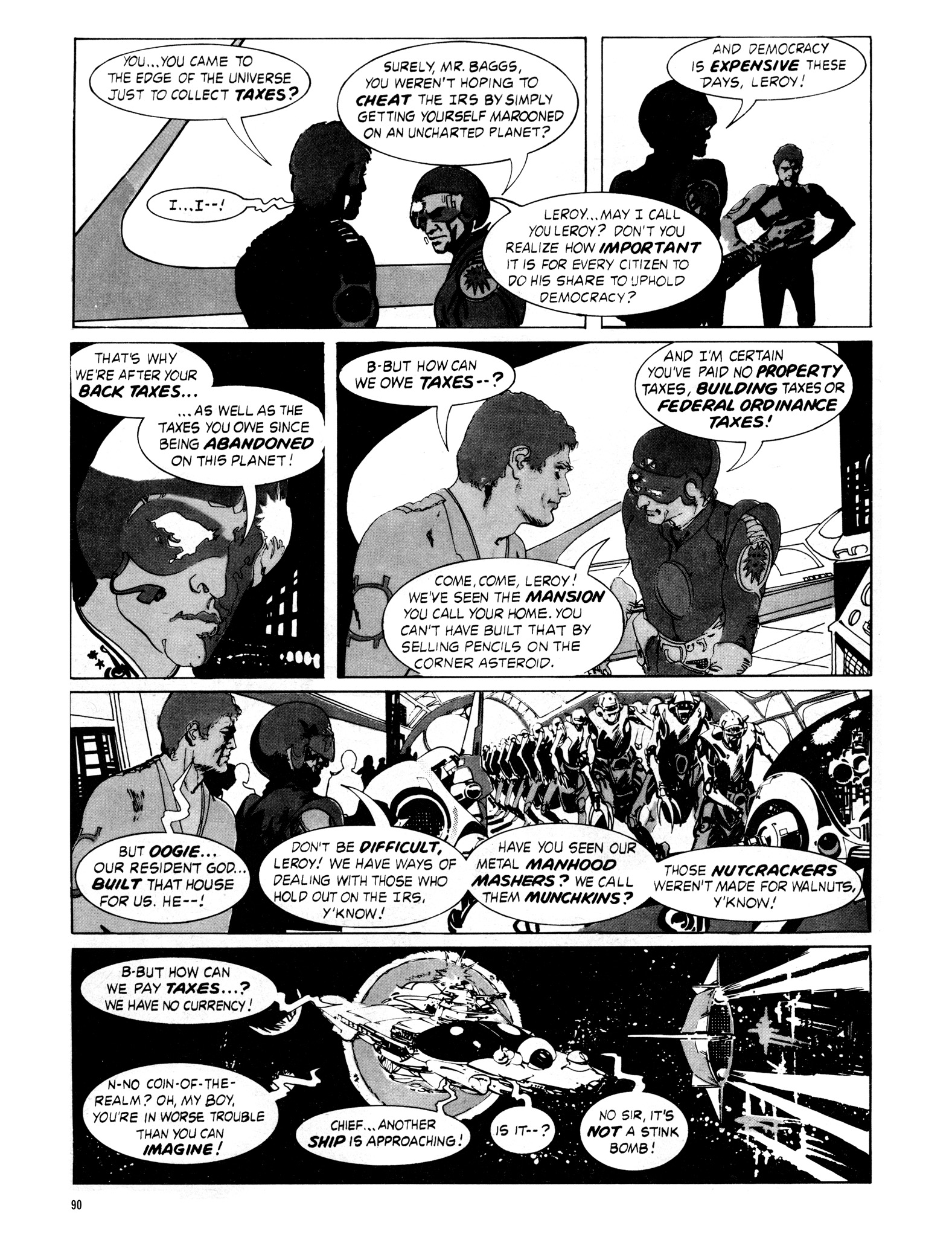 Read online Eerie Archives comic -  Issue # TPB 16 - 91