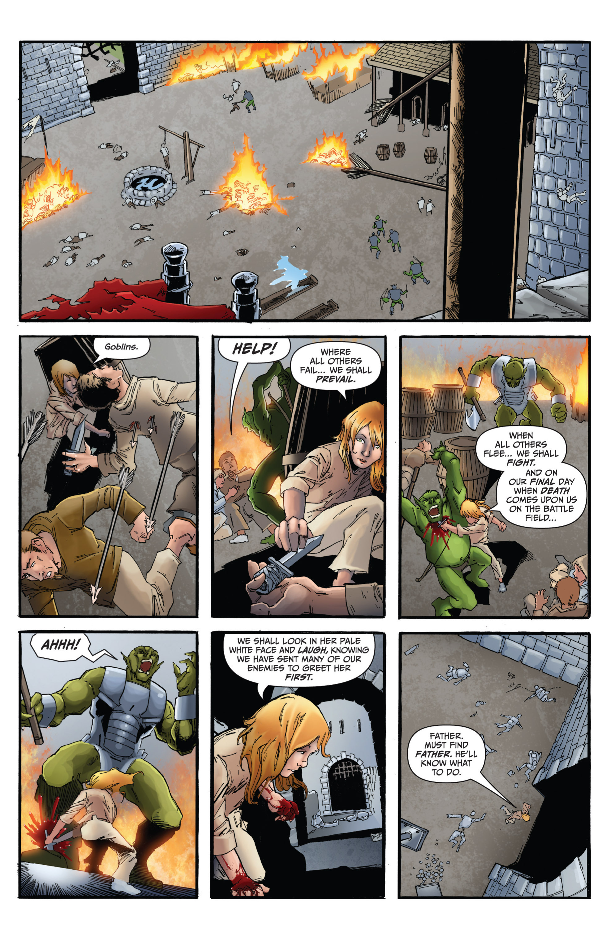 Read online Grimm Fairy Tales presents Grimm Universe comic -  Issue # TPB - 111