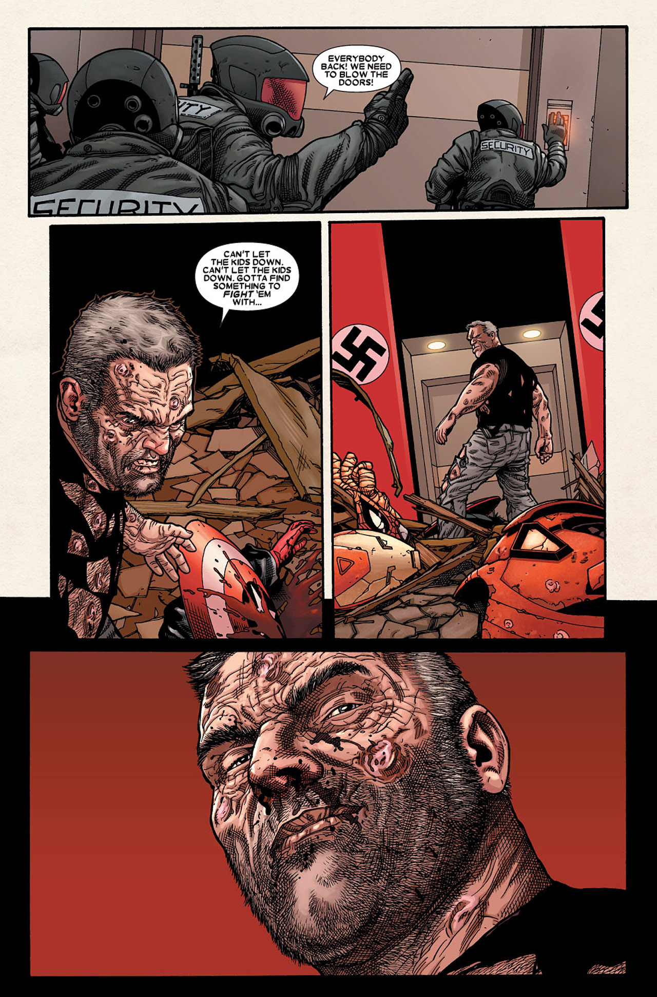 Read online Wolverine: Old Man Logan comic -  Issue # Full - 153