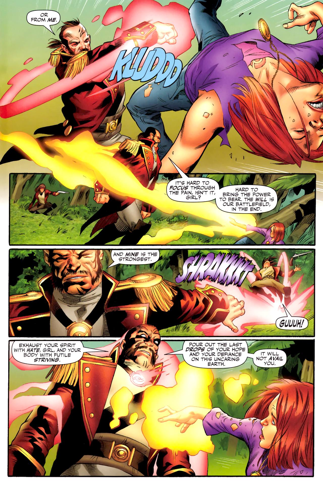 Read online Sigil (2011) comic -  Issue #4 - 12