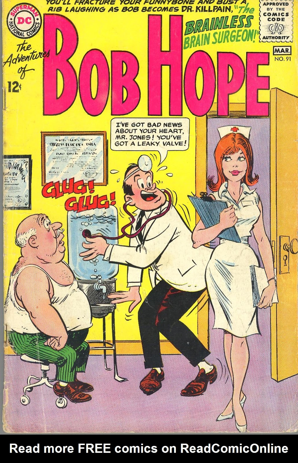 The Adventures of Bob Hope 91 Page 1