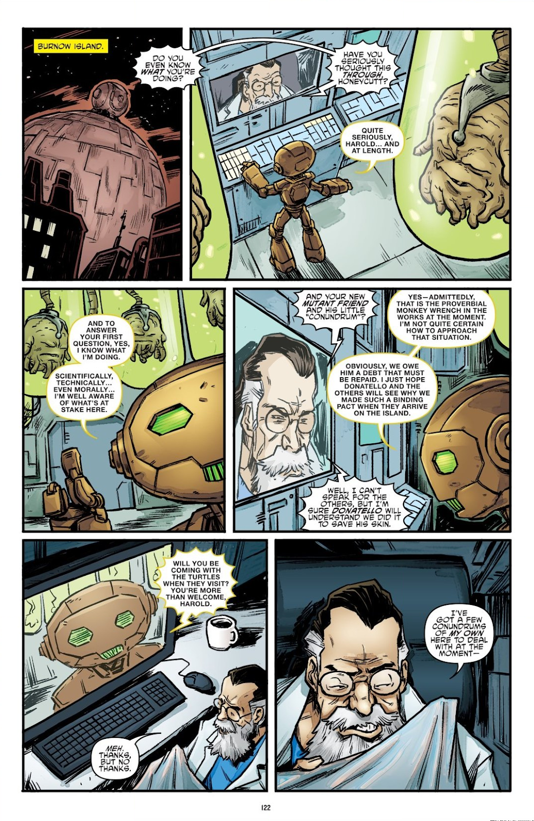 Read online Teenage Mutant Ninja Turtles: The IDW Collection comic -  Issue # TPB 7 (Part 2) - 18