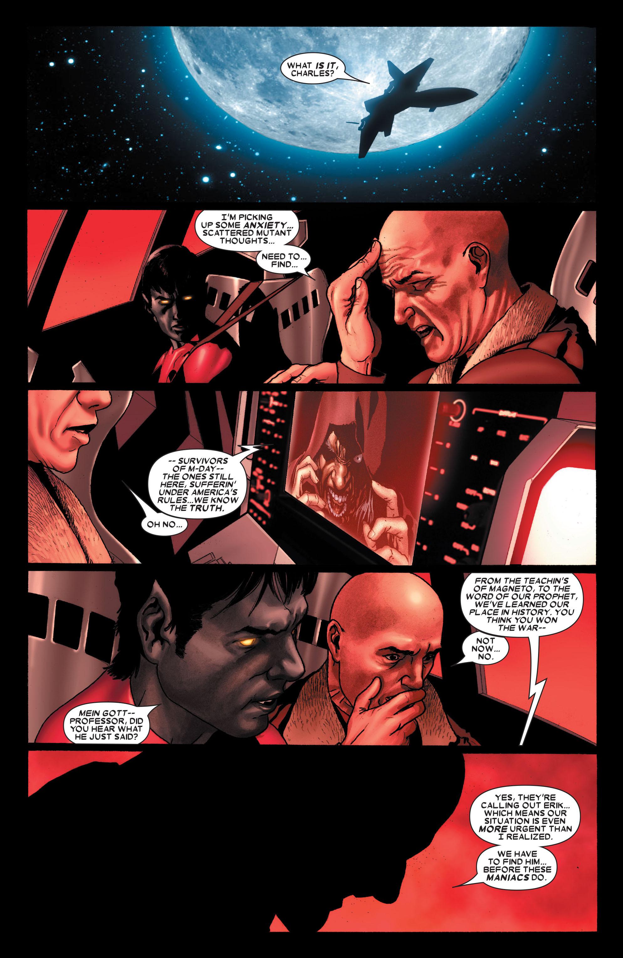 Read online Uncanny X-Men (1963) comic -  Issue #489 - 16