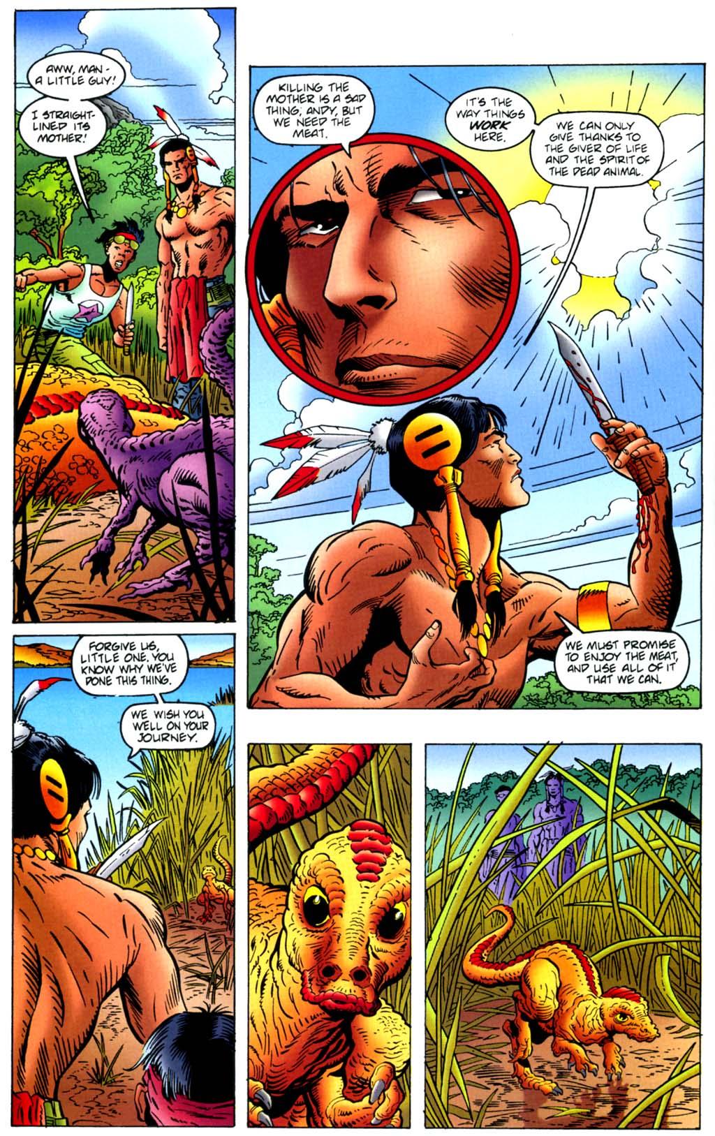 Read online Turok, Dinosaur Hunter (1993) comic -  Issue #45 - 5