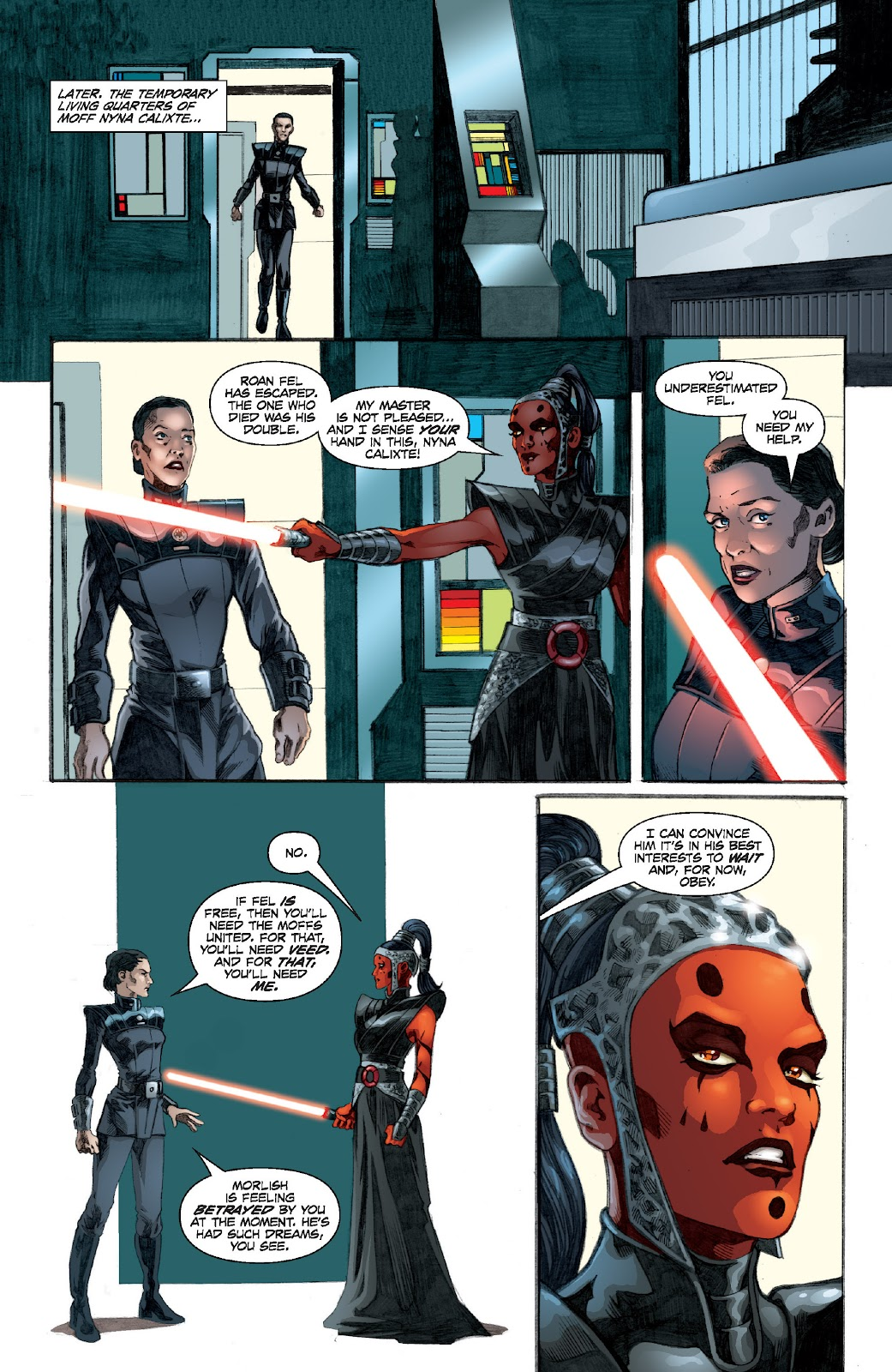 Read online Star Wars Legends: Legacy - Epic Collection comic -  Issue # TPB 1 (Part 2) - 72