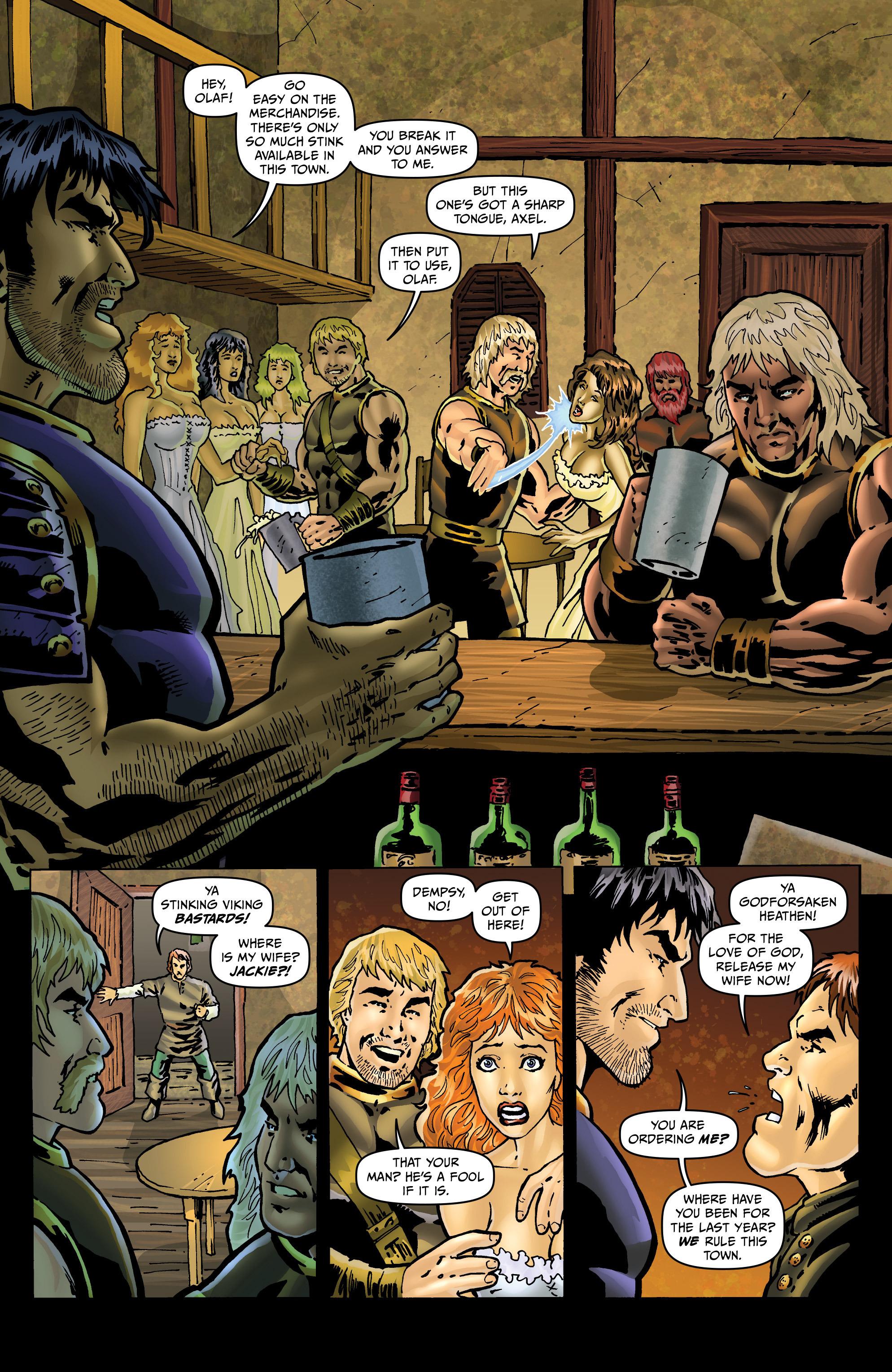 Read online Belladonna: Origins comic -  Issue #4 - 4