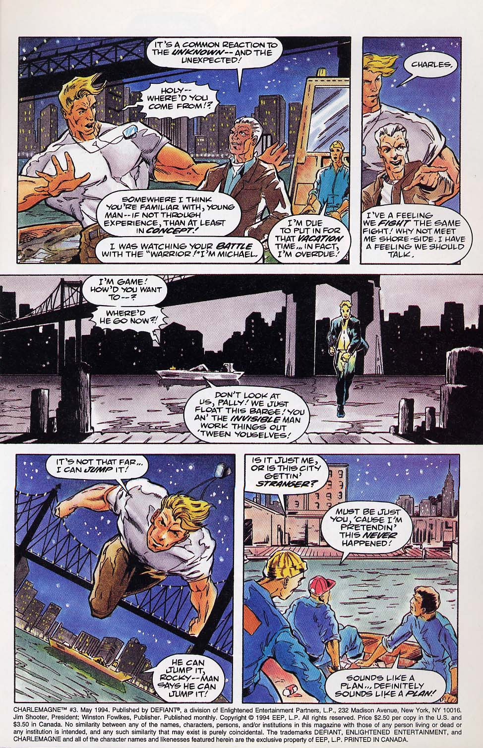 Read online Charlemagne comic -  Issue #3 - 4