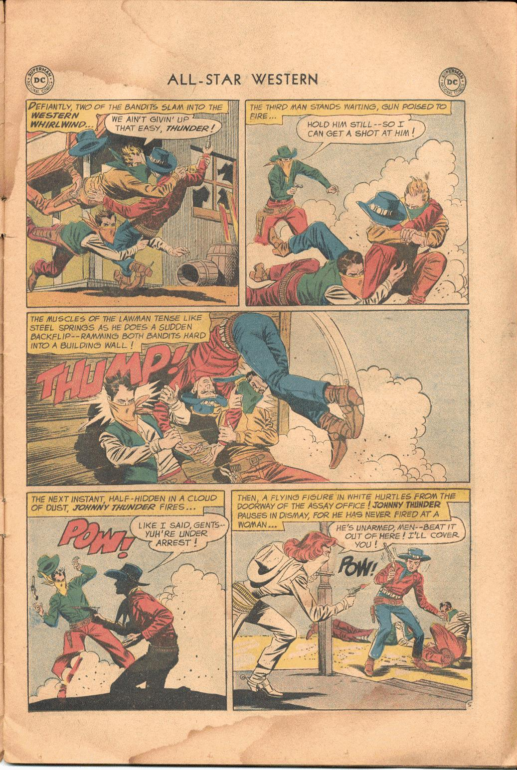 Read online All-Star Western (1951) comic -  Issue #117 - 6