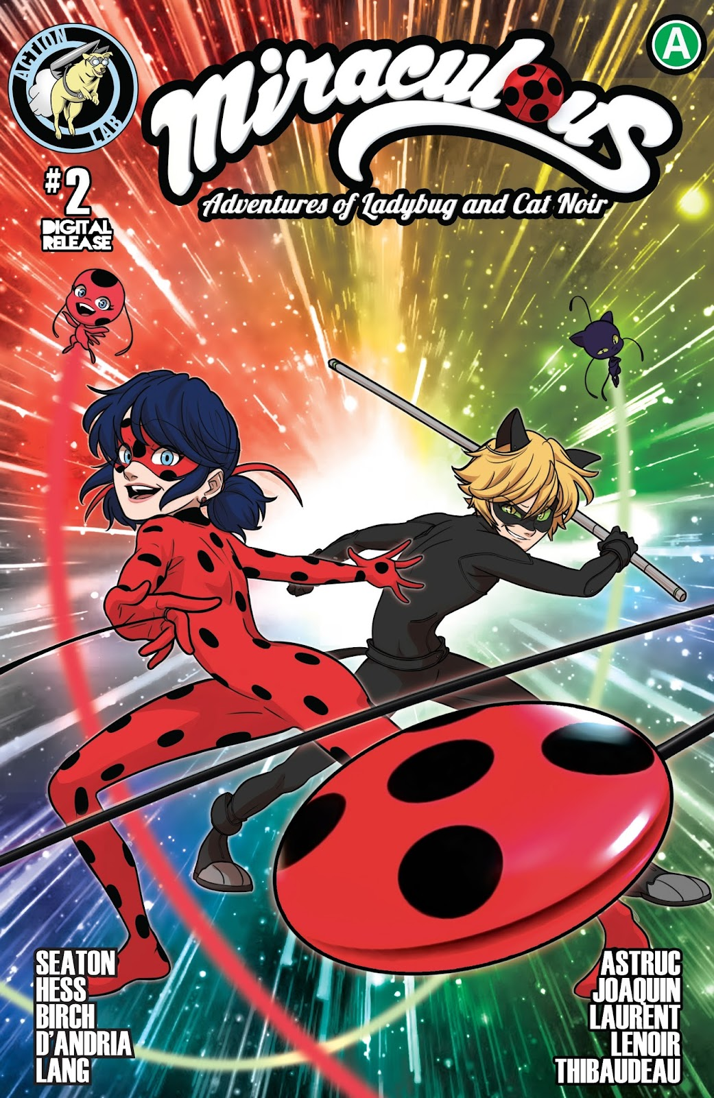 Miraculous: Adventures of Ladybug and Cat Noir issue 2 - Page 1