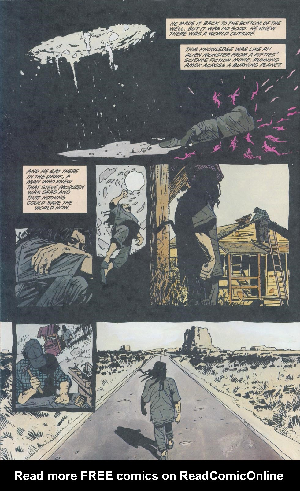 Read online Enigma comic -  Issue #8 - 7
