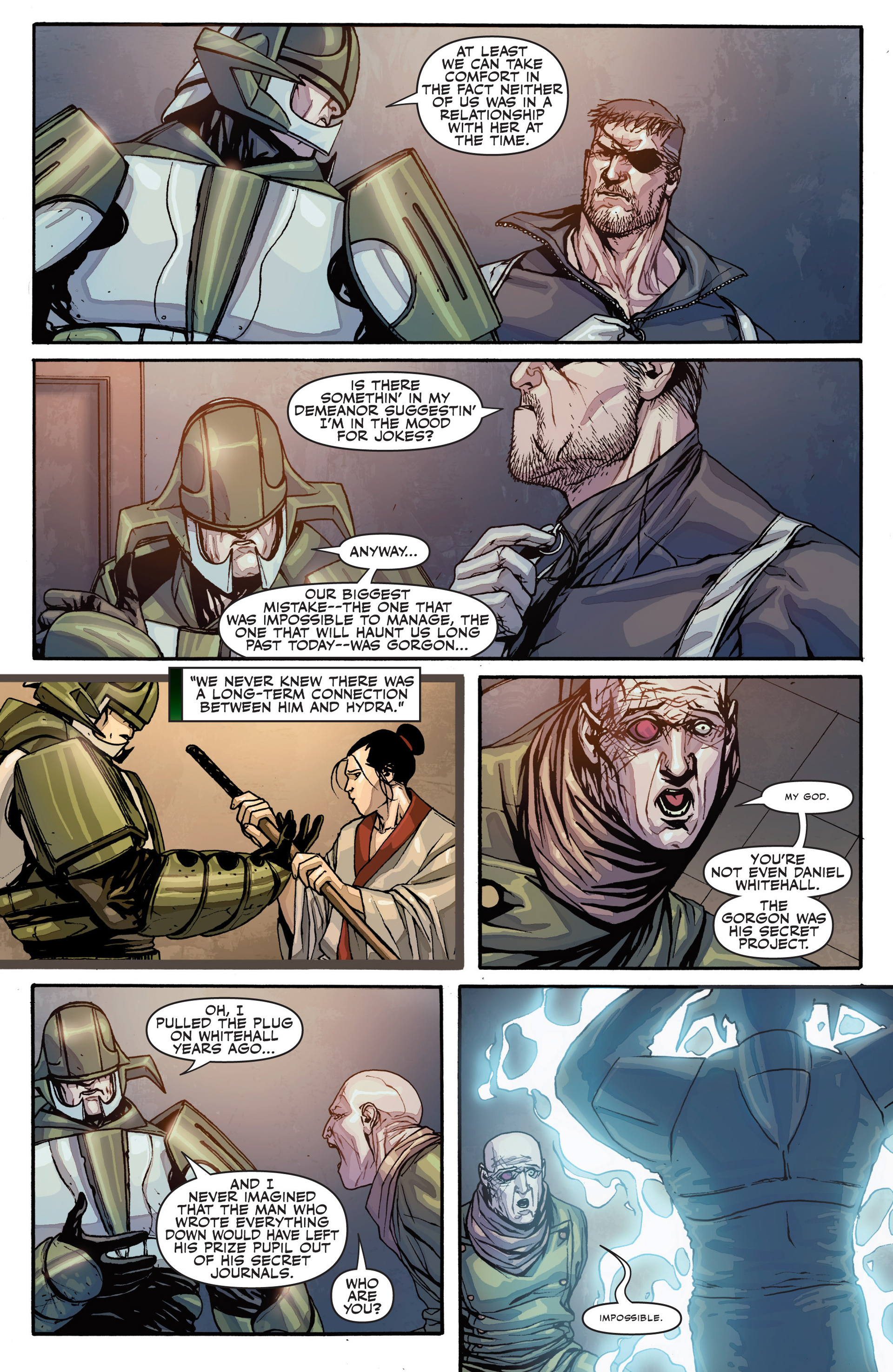 Read online Secret Warriors comic -  Issue #26 - 19