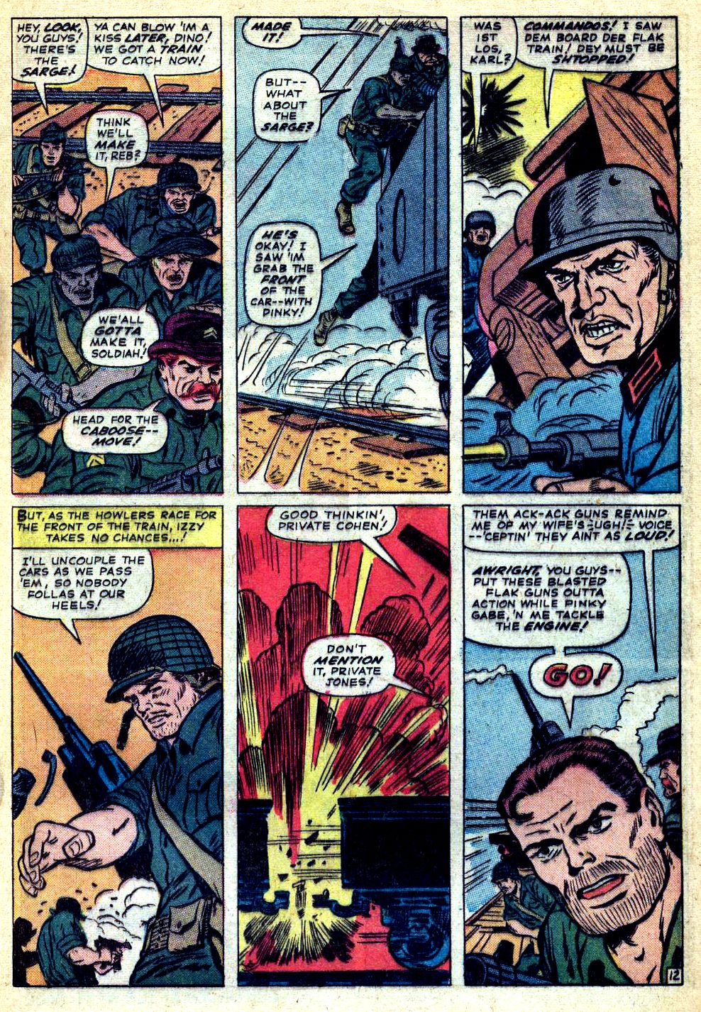 Read online Sgt. Fury comic -  Issue #22 - 17