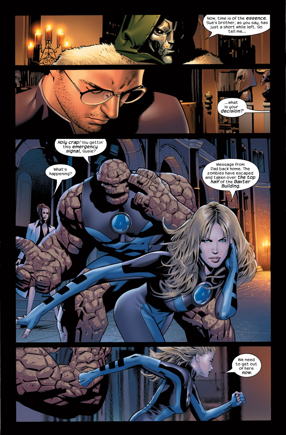 Read online Ultimate Fantastic Four (2004) comic -  Issue #31 - 20