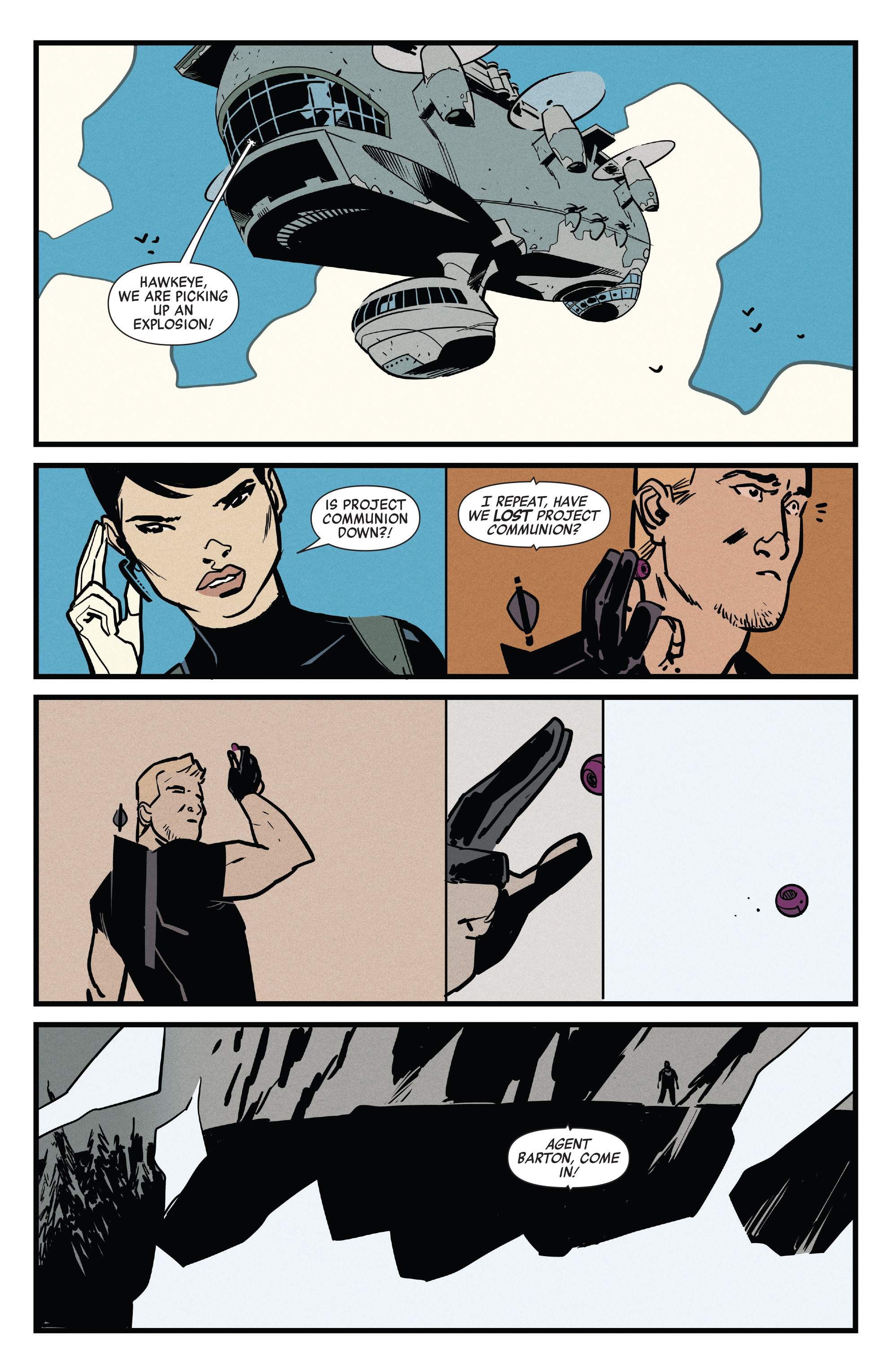 Read online All-New Hawkeye (2016) comic -  Issue #5 - 11