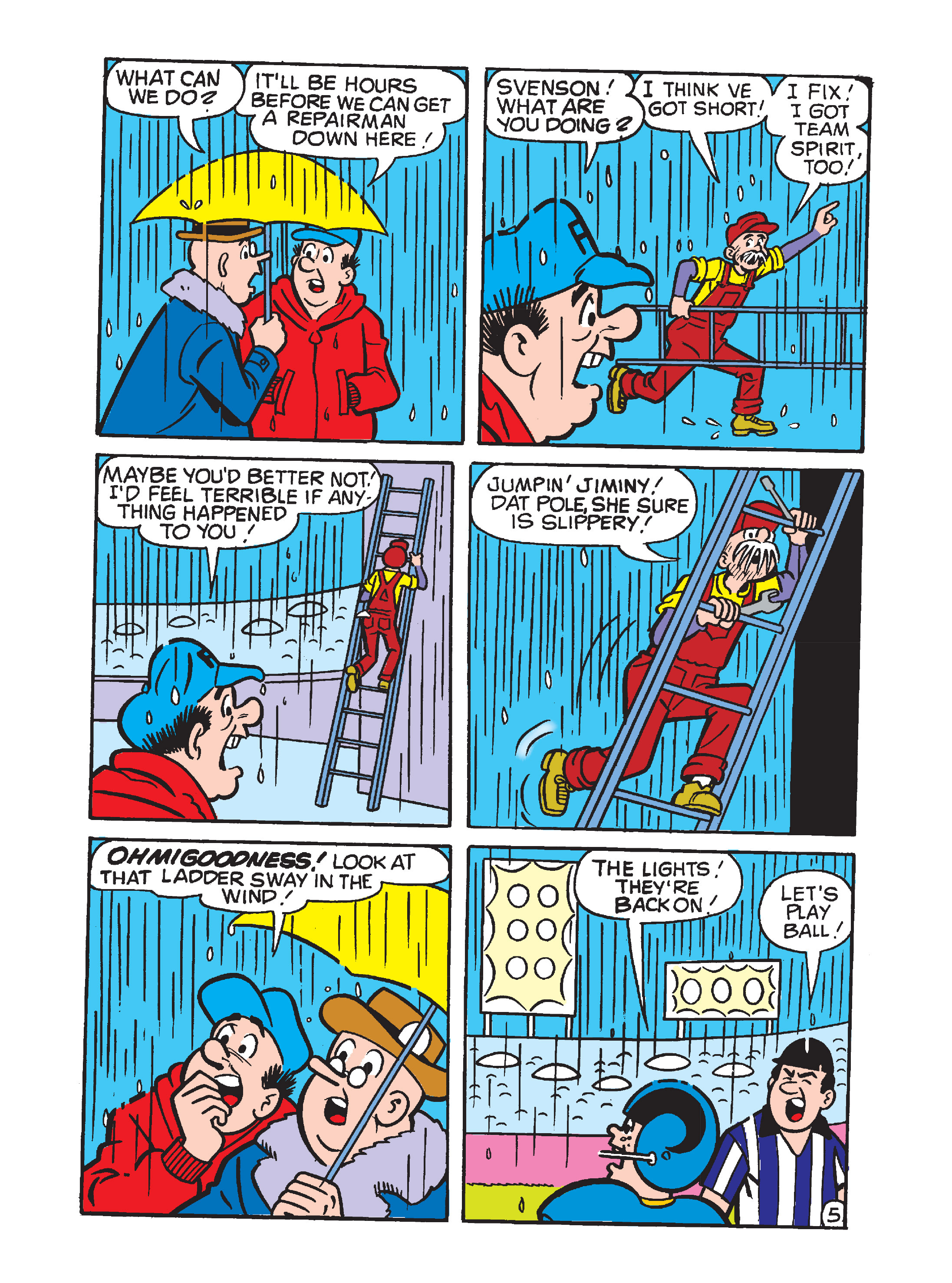 Read online Archie's Funhouse Double Digest comic -  Issue #10 - 120