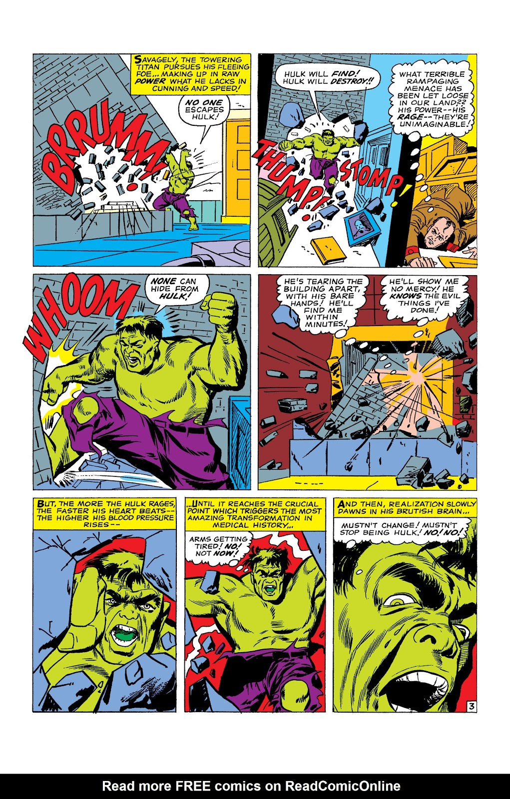 Read online Marvel Masterworks: The Incredible Hulk comic -  Issue # TPB 2 (Part 1) - 93