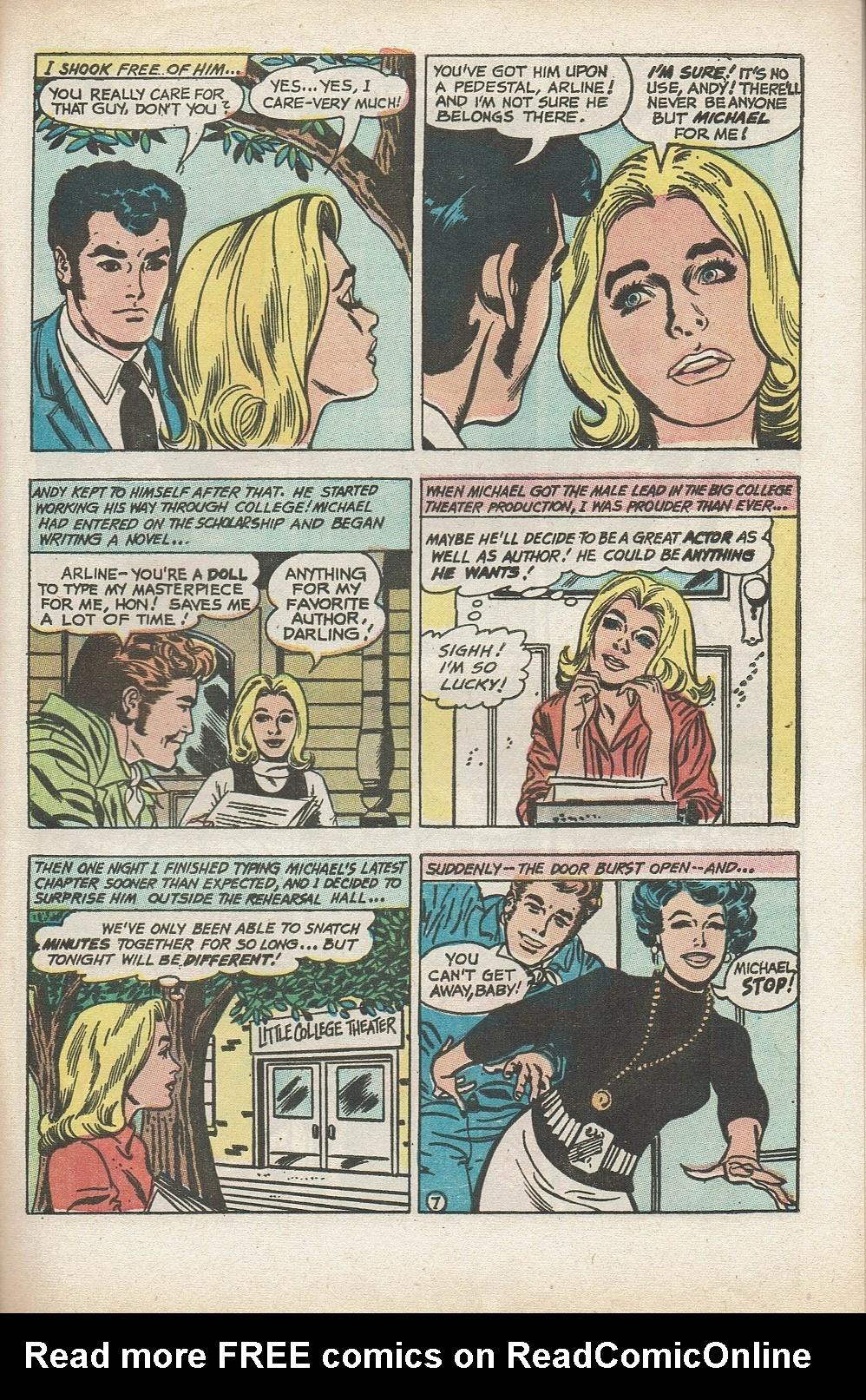 Read online Secret Hearts comic -  Issue #153 - 29