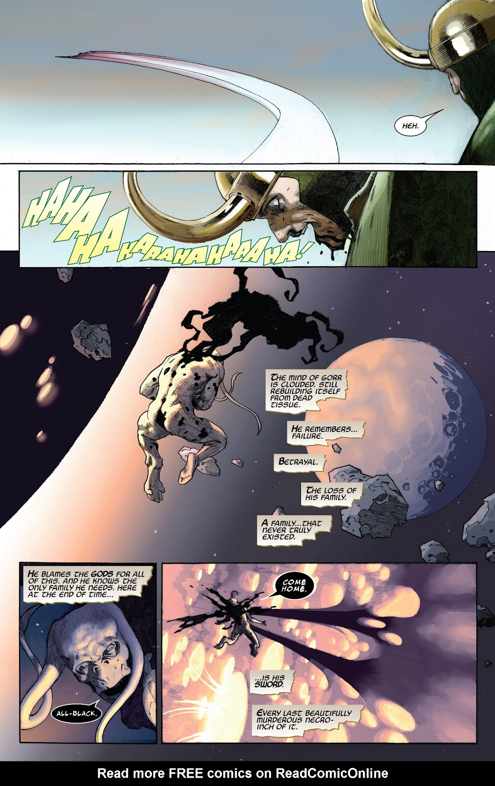 Read online King Thor comic -  Issue #2 - 9