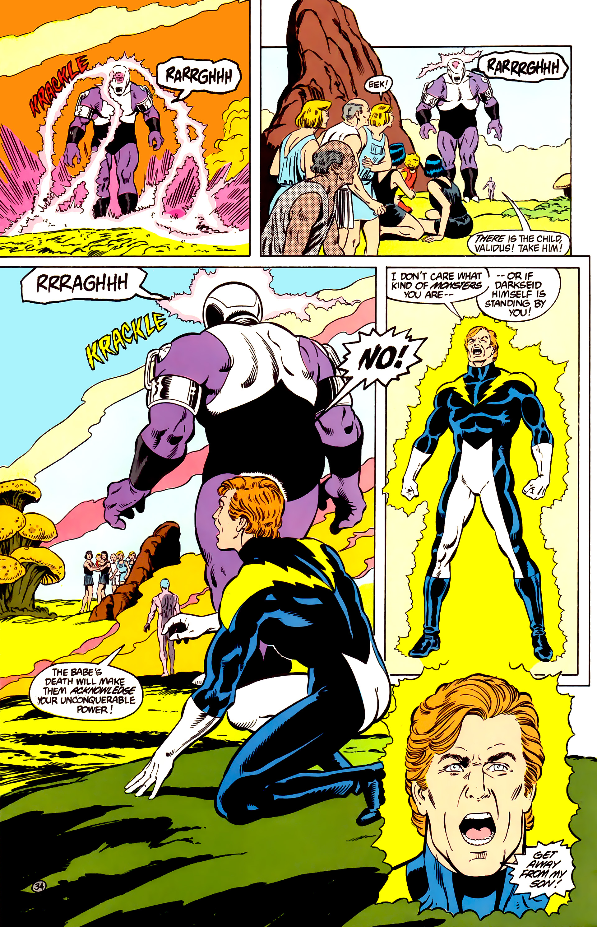 Legion of Super-Heroes (1984) _Annual_2 Page 35