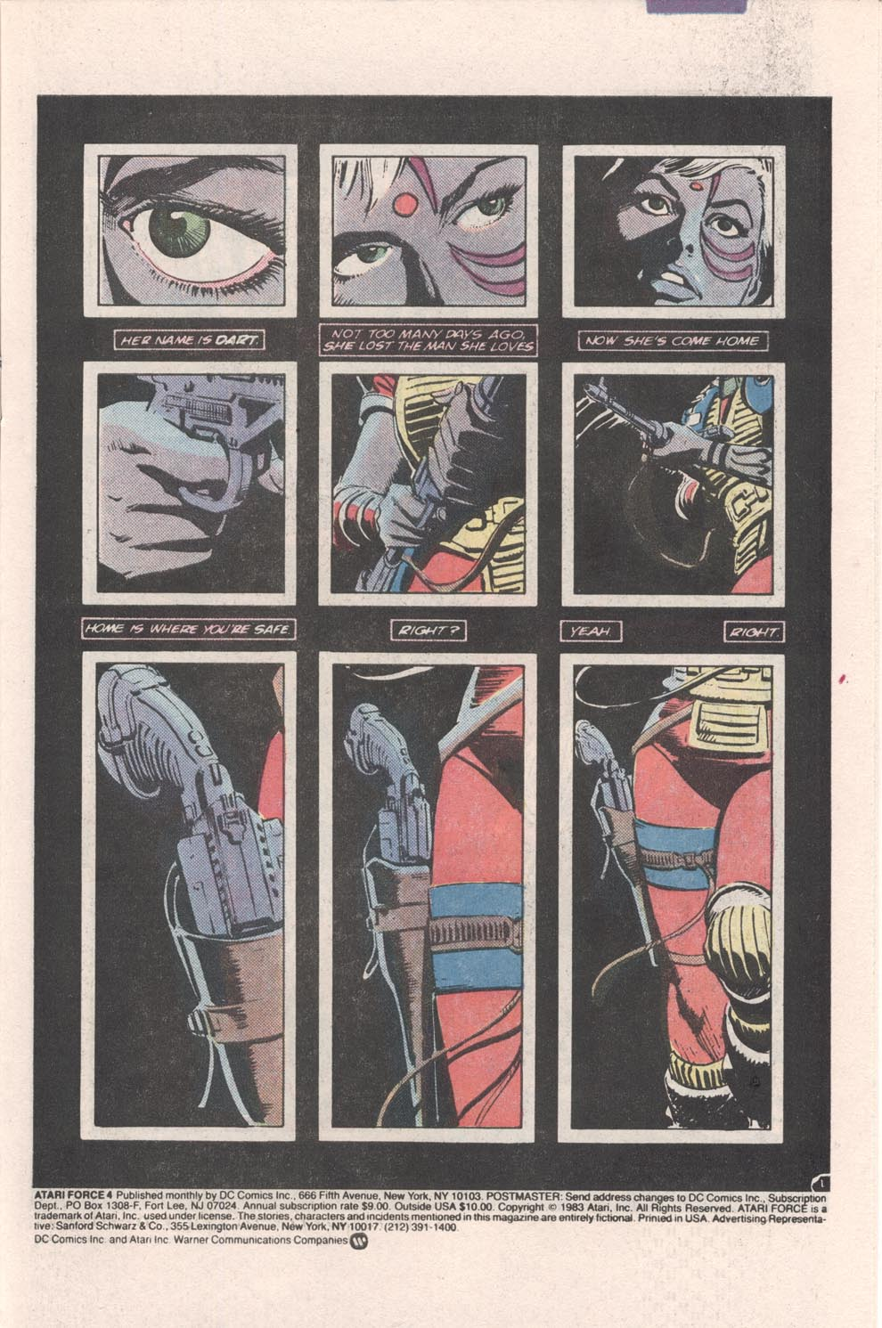 Read online Atari Force (1984) comic -  Issue #4 - 2