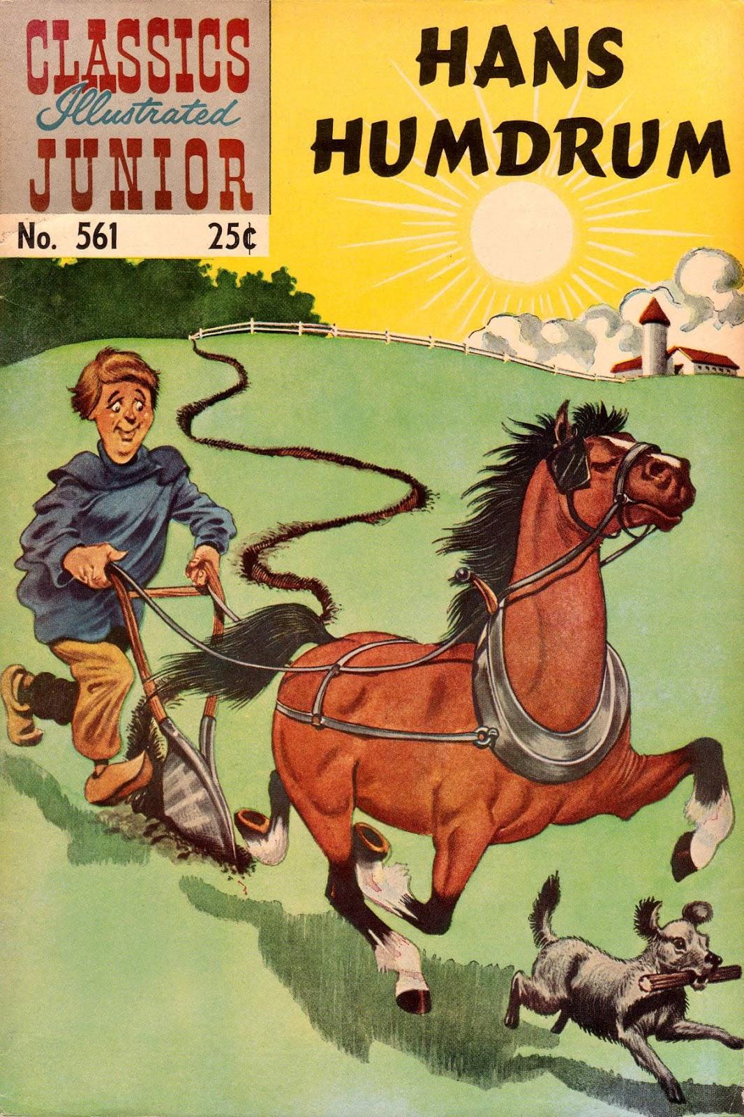 Classics Illustrated Junior 561 Page 1