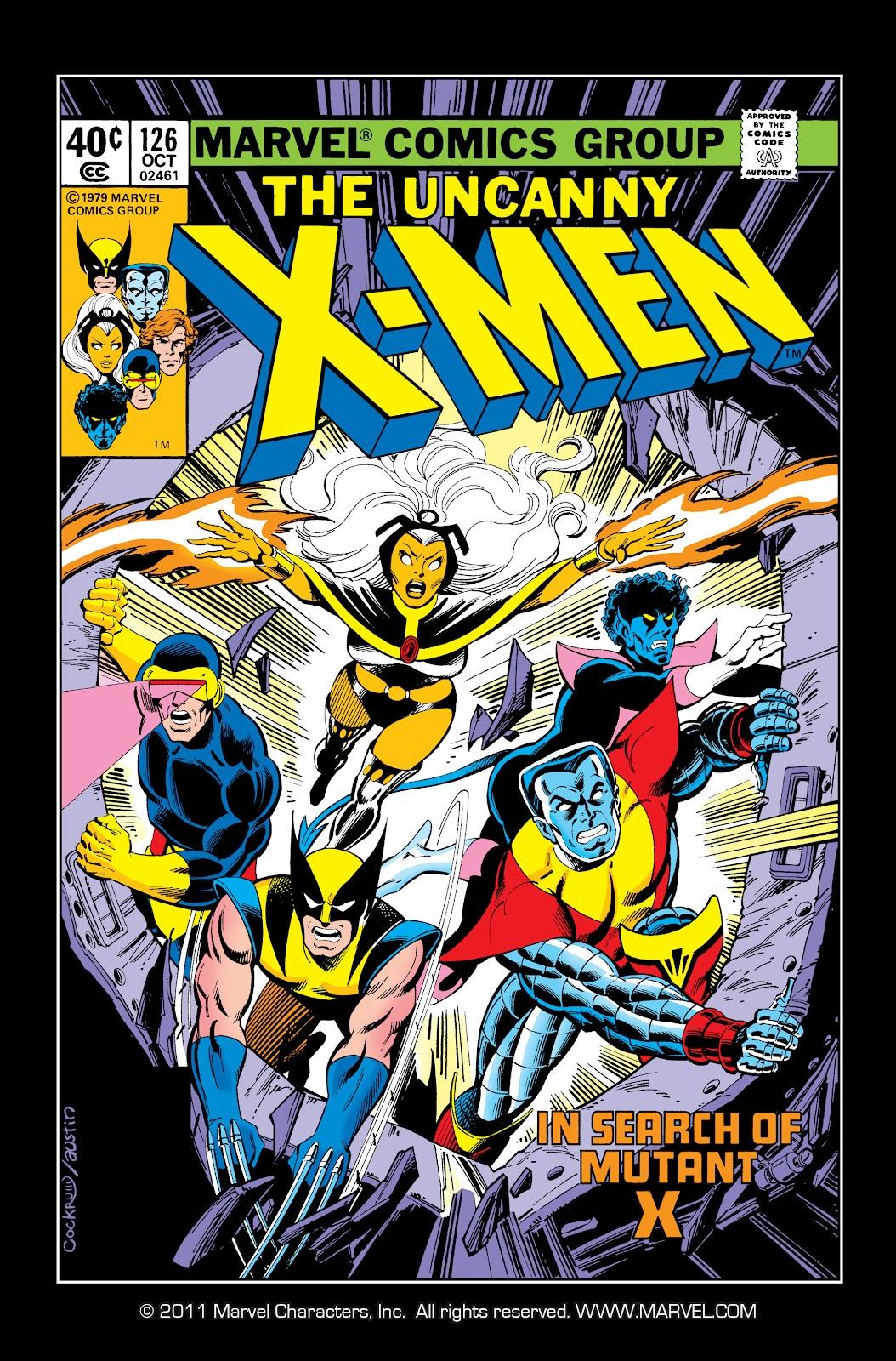 Uncanny X-Men (1963) issue 126 - Page 1