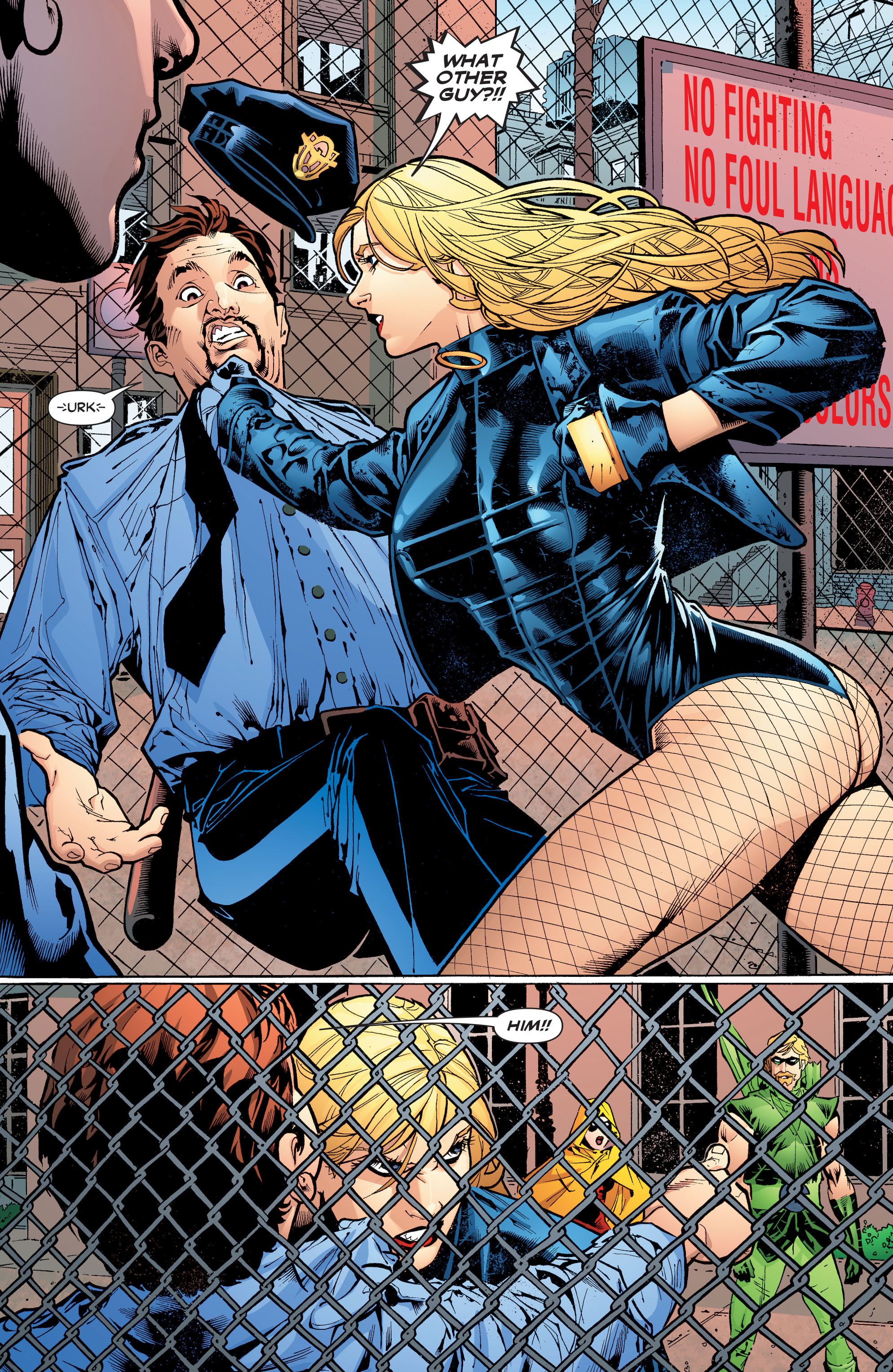Read online Black Canary (2007) comic -  Issue #3 - 3
