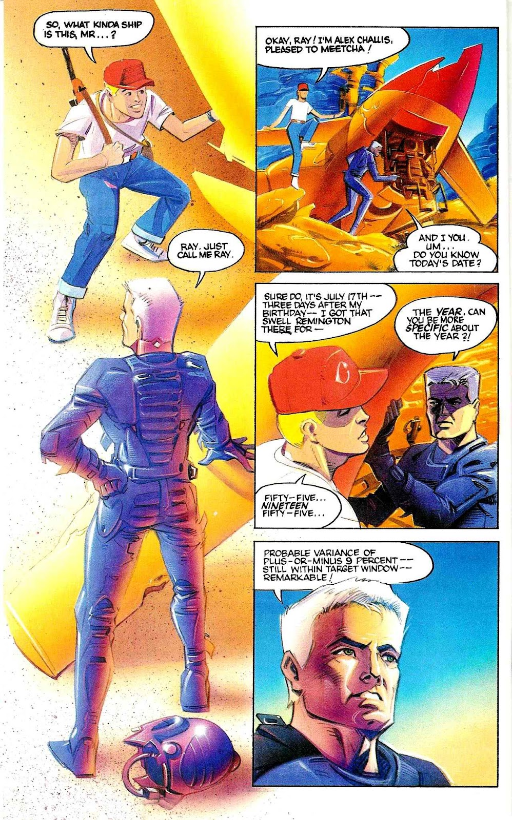 Tempus Fugitive issue 1 - Page 13