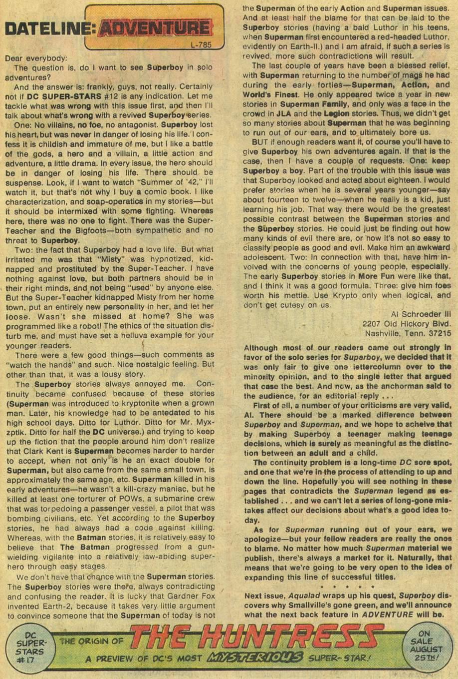 Read online Adventure Comics (1938) comic -  Issue #454 - 32
