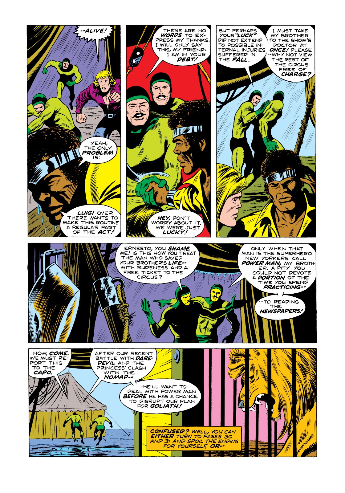 Read online Marvel Masterworks: Luke Cage, Power Man comic -  Issue # TPB 2 (Part 2) - 48