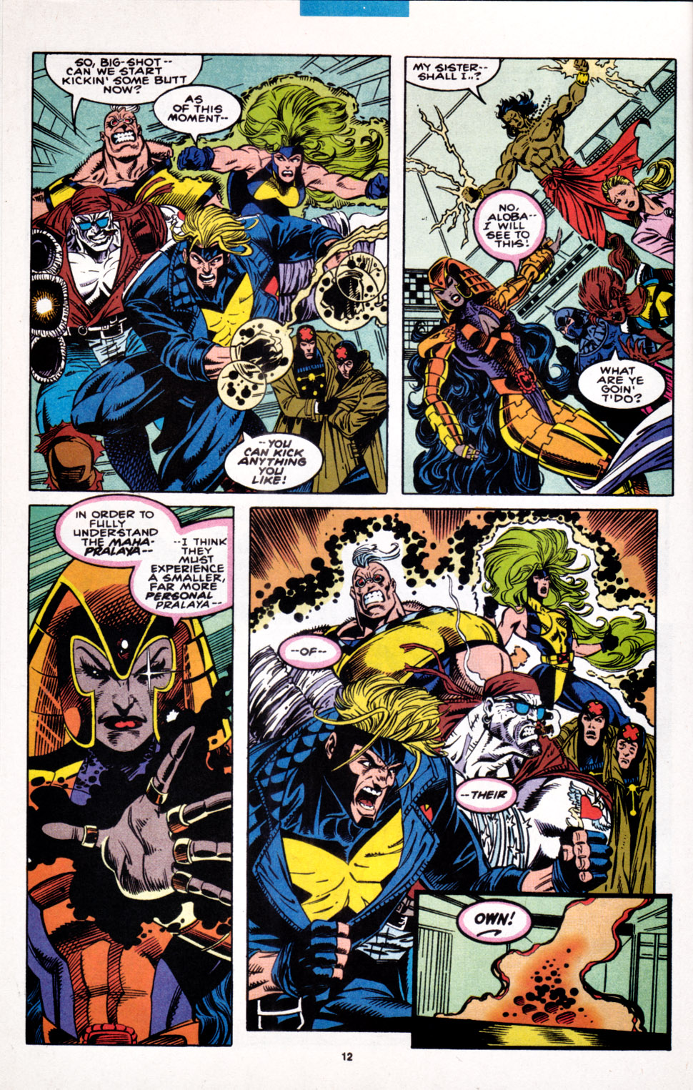 Read online X-Factor (1986) comic -  Issue #100 - 10