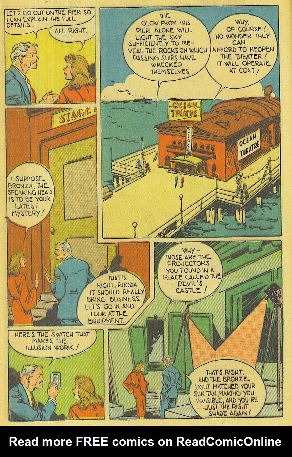 Read online Super-Magician Comics comic -  Issue #42 - 5