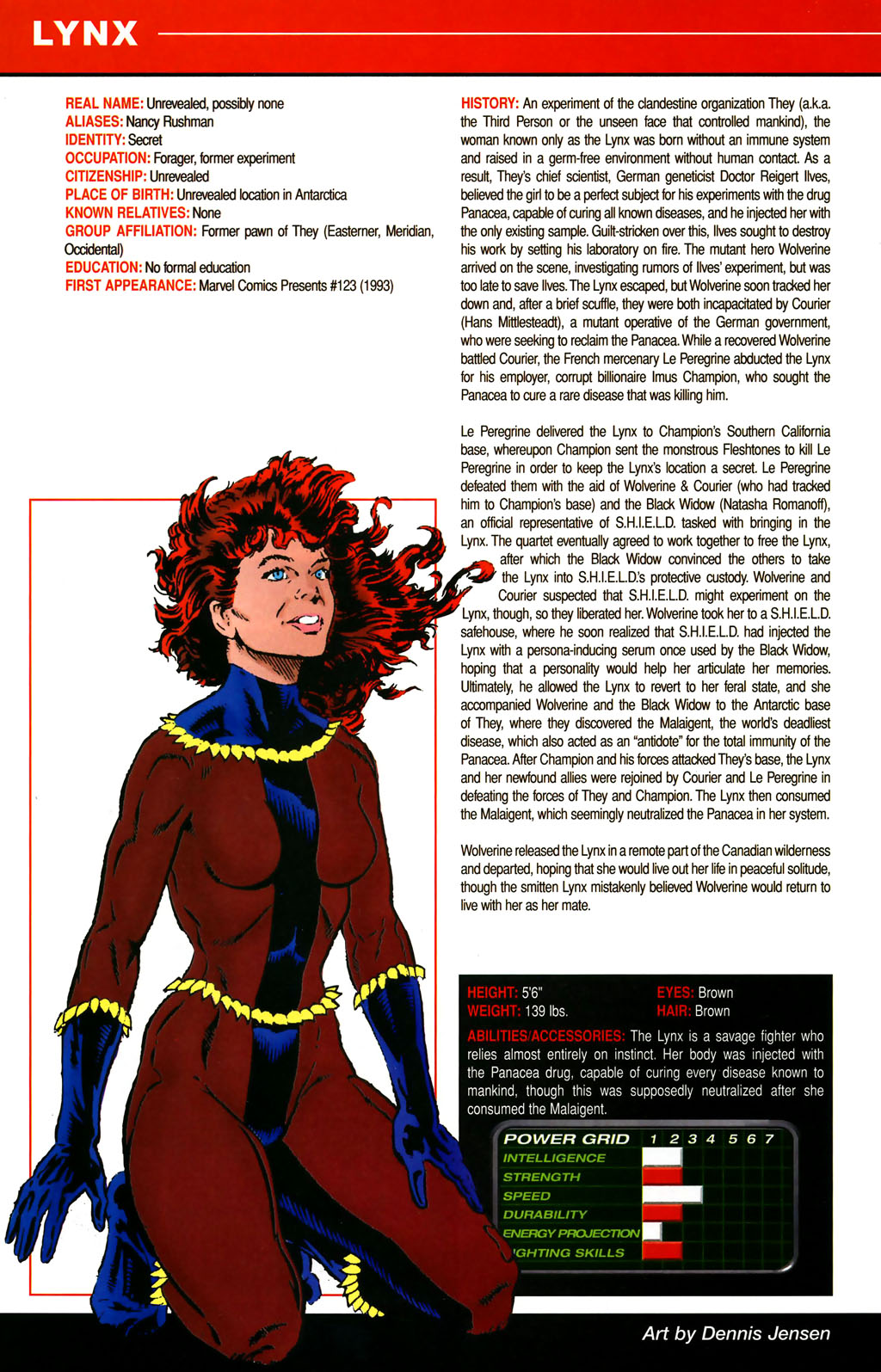 Read online All-New Official Handbook of the Marvel Universe A to Z comic -  Issue #6 - 38
