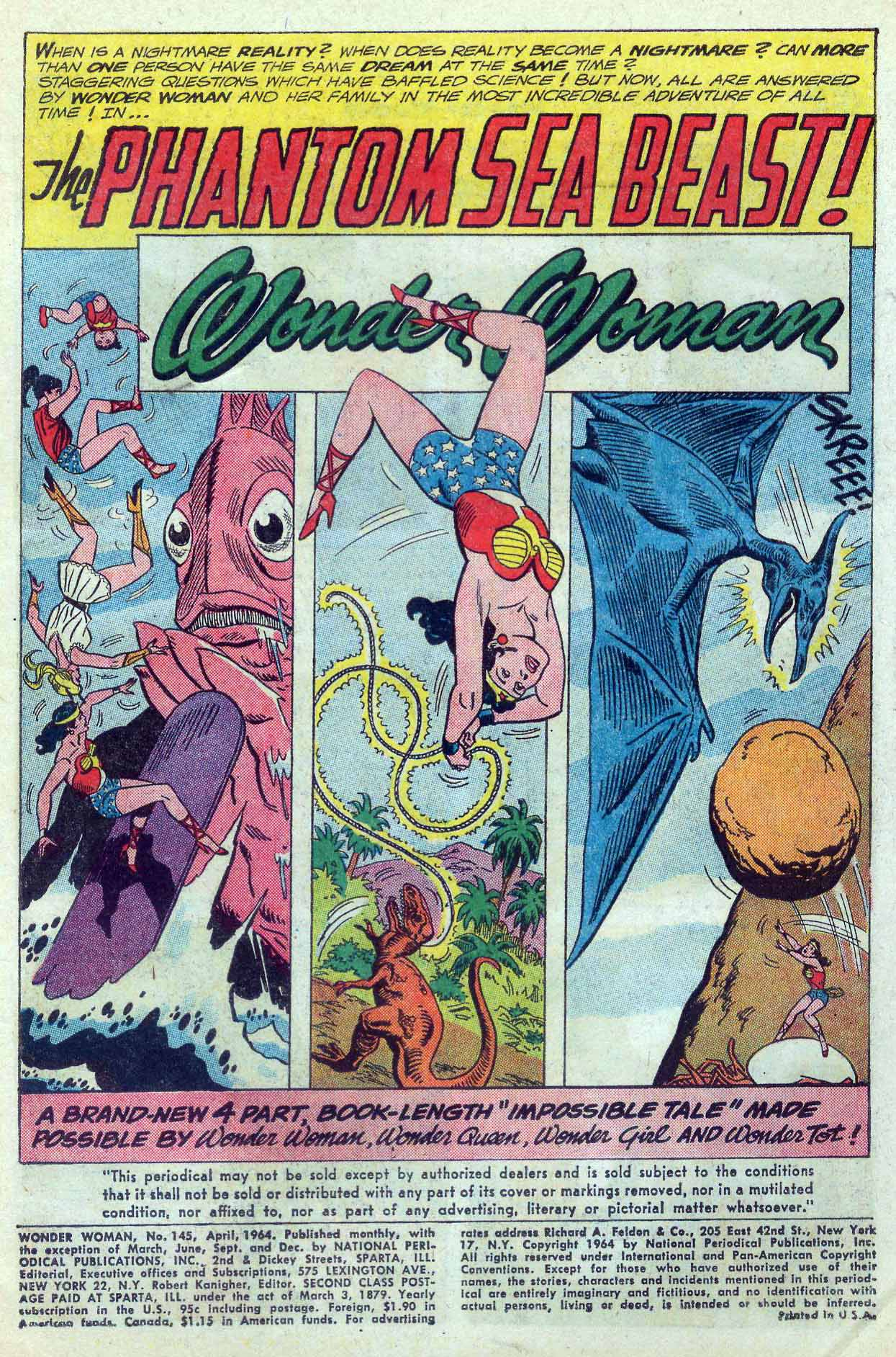 Read online Wonder Woman (1942) comic -  Issue #145 - 3