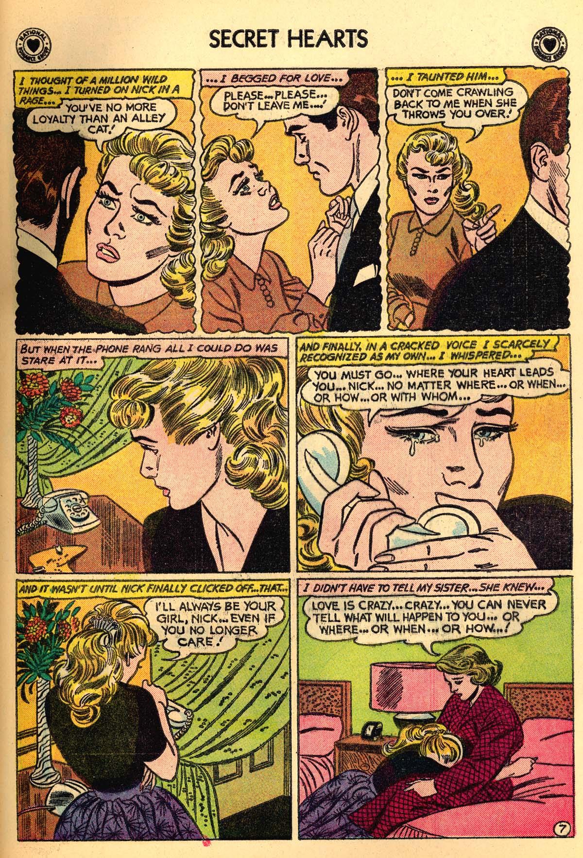 Read online Secret Hearts comic -  Issue #66 - 33