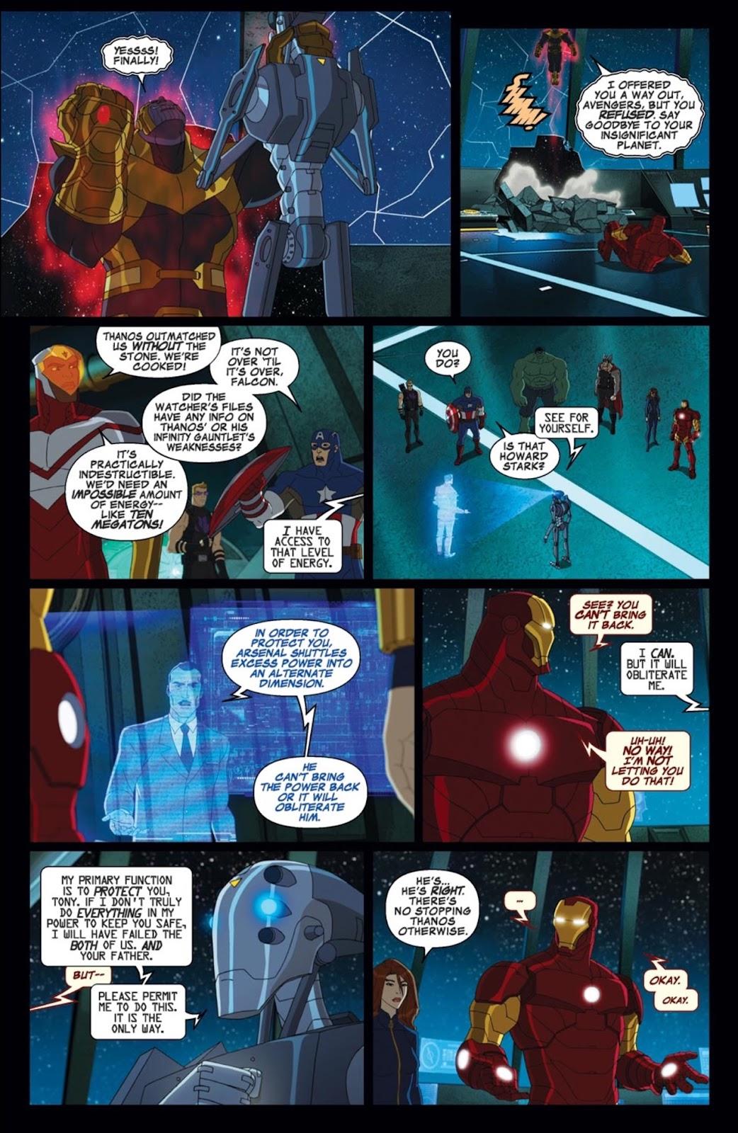 Read online Marvel Universe Avengers Assemble Season 2 comic -  Issue #2 - 20