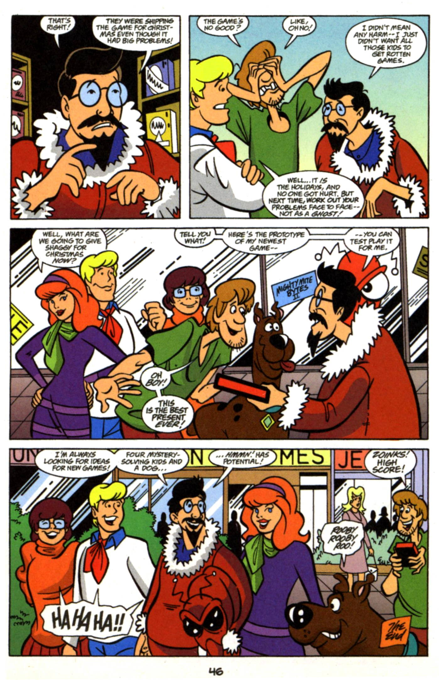 Read online Scooby-Doo (1997) comic -  Issue #17 - 23