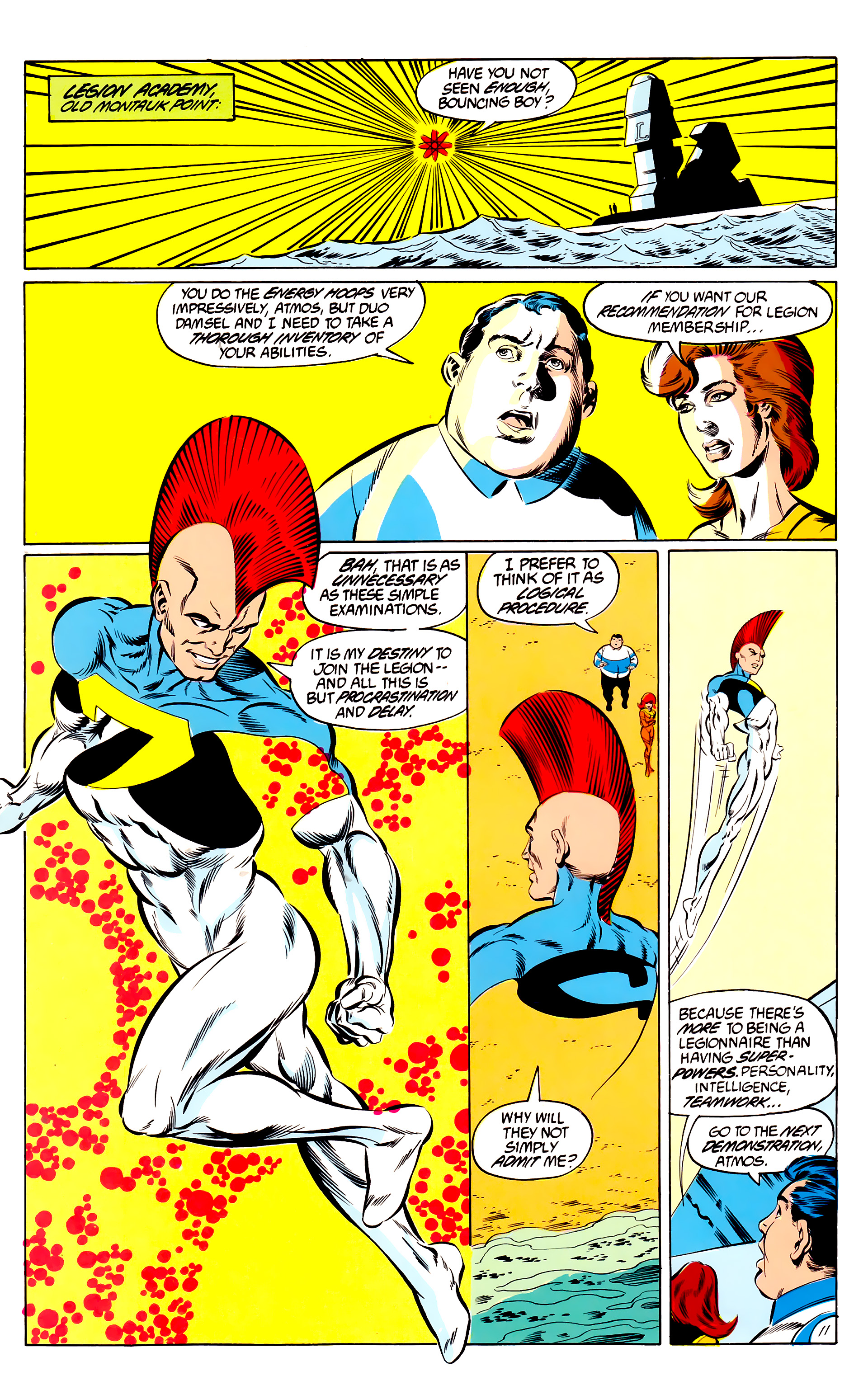 Legion of Super-Heroes (1984) 46 Page 11