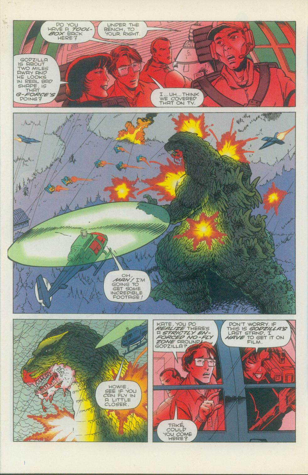 Godzilla (1995) Issue #1 #2 - English 23