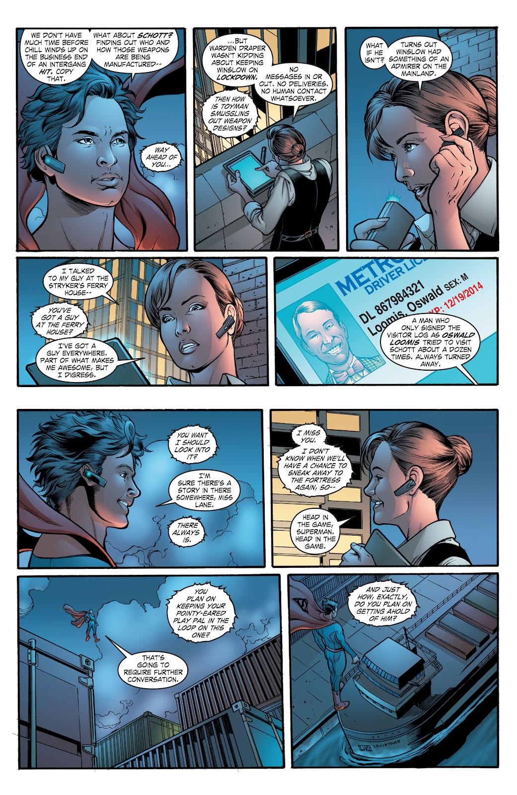 Read online Smallville Season 11 [II] comic -  Issue # TPB 2 - 56