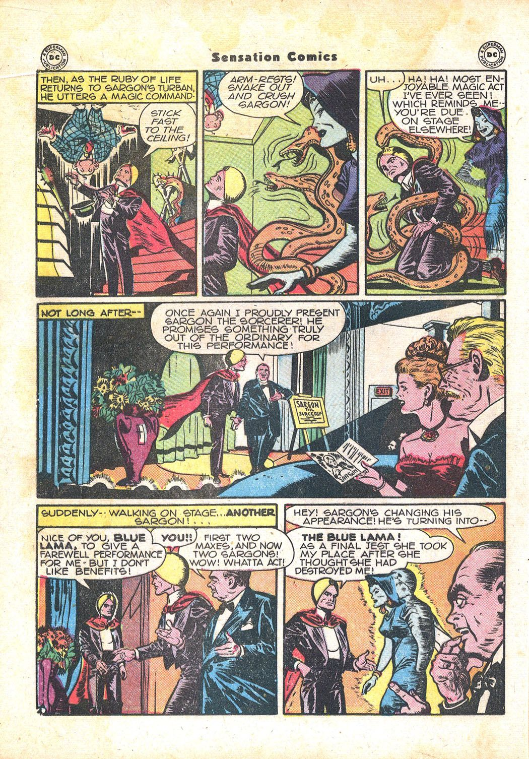 Read online Sensation (Mystery) Comics comic -  Issue #71 - 28