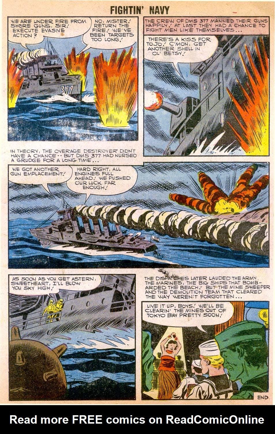 Read online Fightin' Navy comic -  Issue #79 - 17