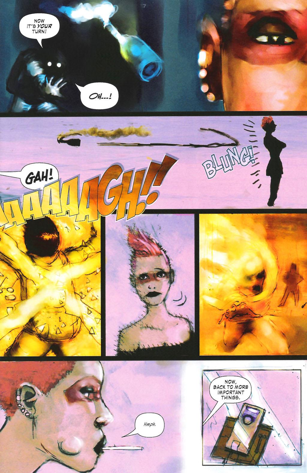 Read online ShadowHawk (2005) comic -  Issue #7 - 7