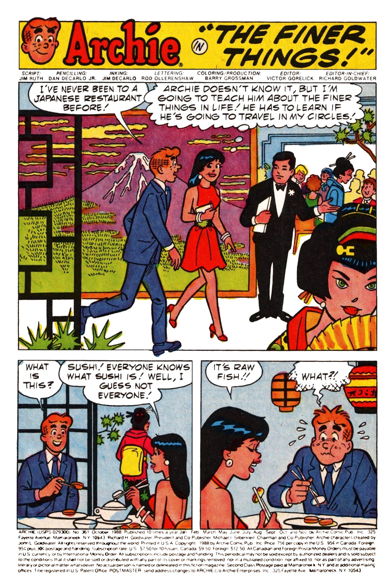 Read online Archie (1960) comic -  Issue #361 - 4