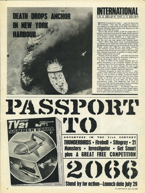 Read online TV Century 21 (TV 21) comic -  Issue #80 - 11