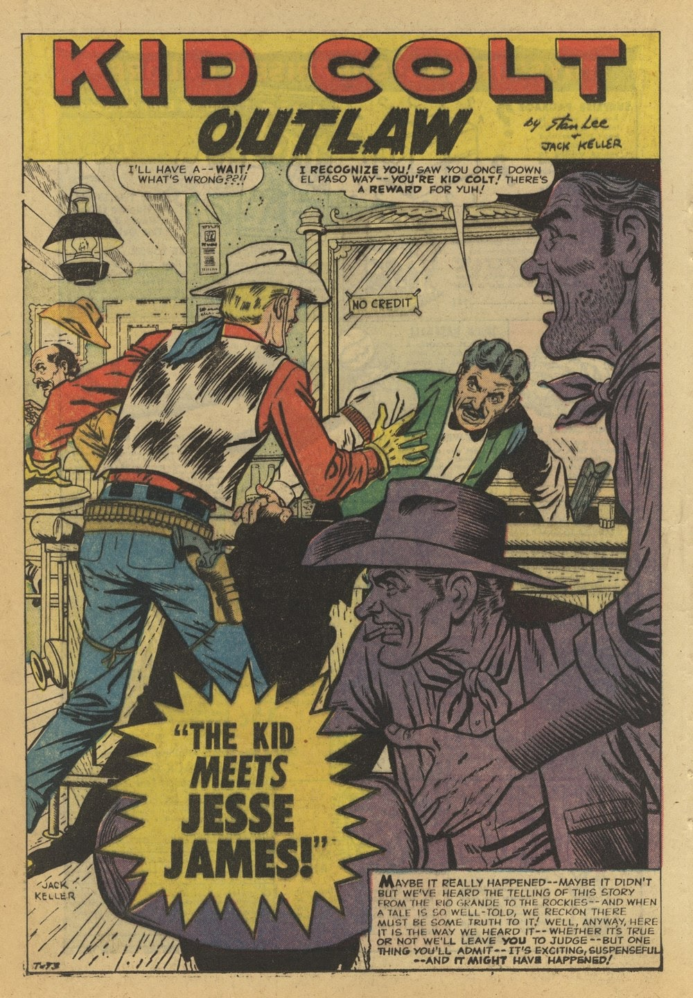 Kid Colt Outlaw issue 82 - Page 16