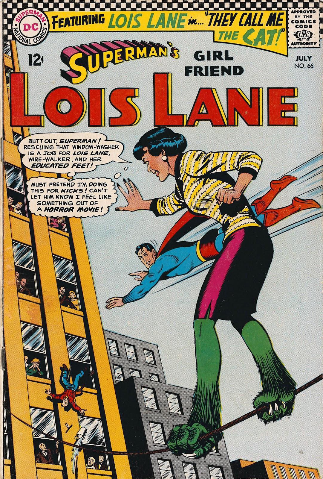 Supermans Girl Friend, Lois Lane 66 Page 1