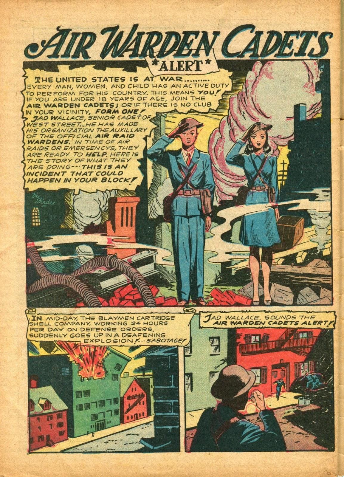 Read online Super-Magician Comics comic -  Issue #5 - 63