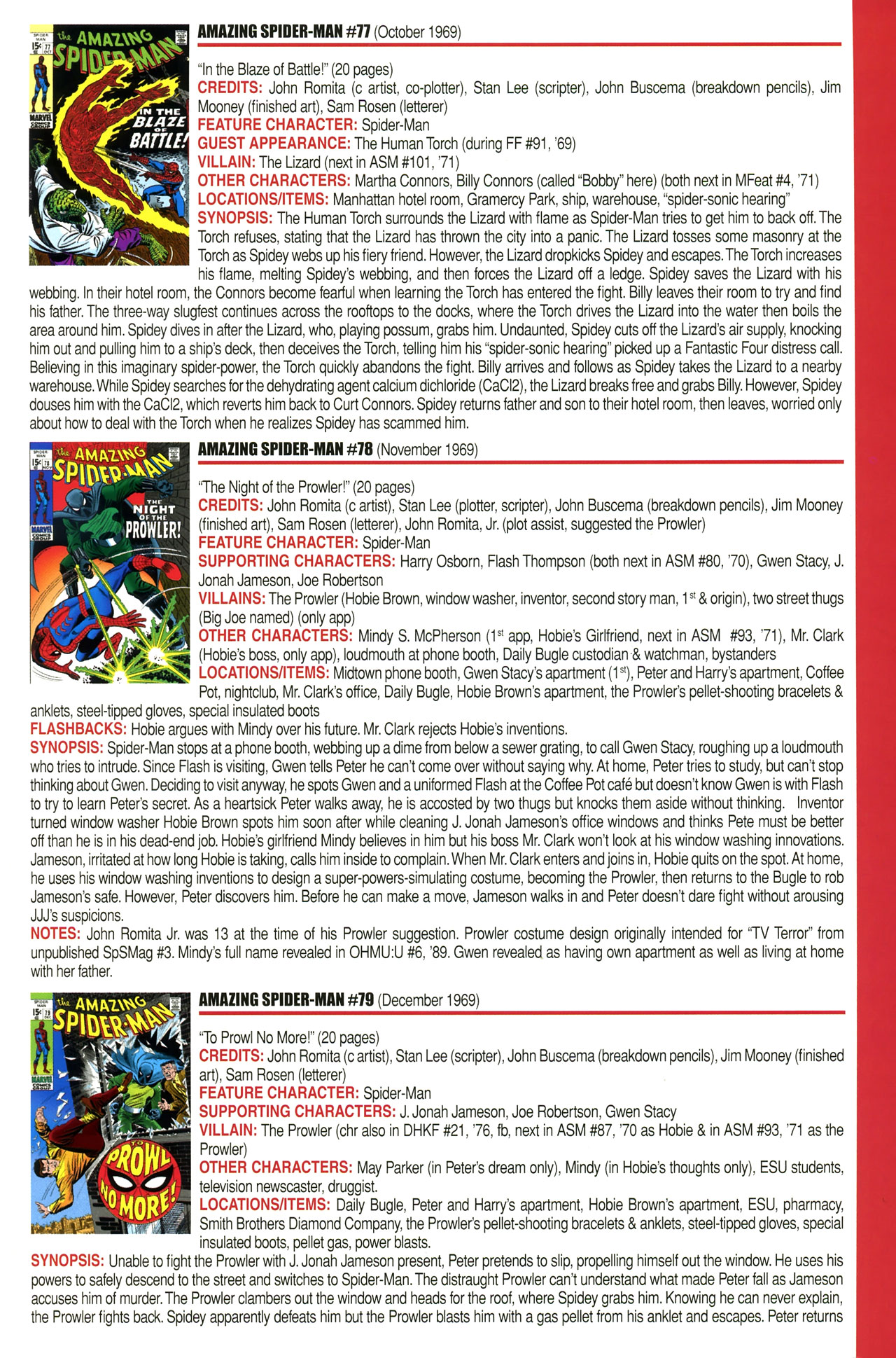 Read online Official Index to the Marvel Universe comic -  Issue #2 - 13