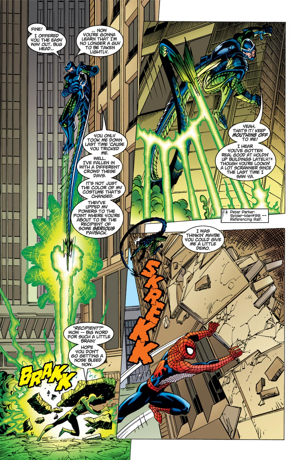 The Amazing Spider-Man (1999) 1 Page 18